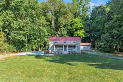 Charlottesville Single Family Home For Sale: 2080 Stony Point Rd