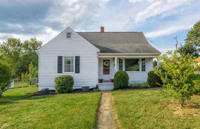 Staunton VA Single Family Home For Sale: $130,000