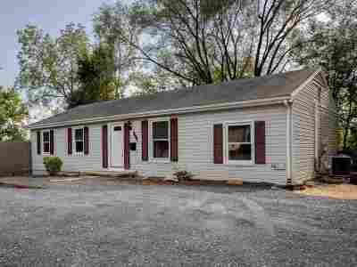 Harrisonburg Single Family Home For Sale: 1438 Crawford Ave