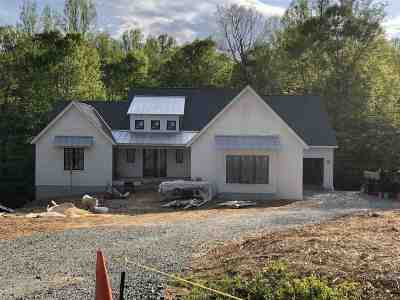 Charlottesville Single Family Home For Sale: Lot 11 Proffit Crossing Ln