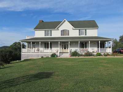 Staunton Single Family Home For Sale: 201 Homes Ln