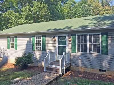 Scottsville Single Family Home For Sale: 190 Gough Town Rd