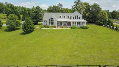Charlottesville Single Family Home For Sale: 2603 Browns Gap Tpke