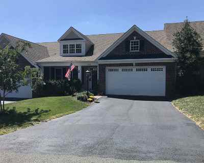 Albemarle County Townhome For Sale: 1261 Townbrook Xing