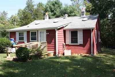 Single Family Home For Sale: 1817 Slate Mill Branch Rd