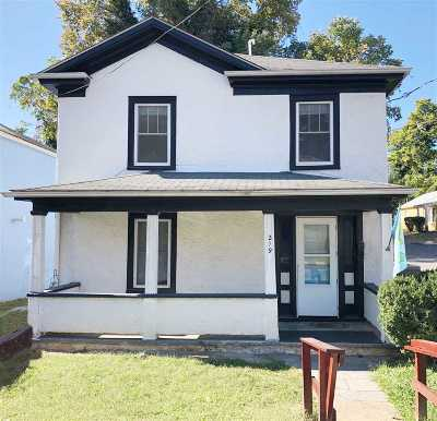Charlottesville Single Family Home For Sale: 219 5th St SW