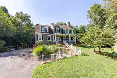 Albemarle County Single Family Home For Sale: 3500 Montgomery Ln