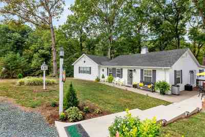 Scottsville Single Family Home For Sale: 6857 Jefferson Mill Rd