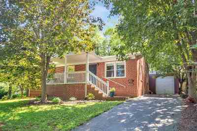 Charlottesville Single Family Home For Sale: 1404 Burgess Ln