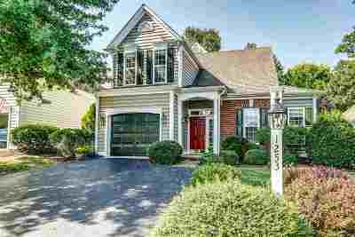 Albemarle County Single Family Home For Sale: 1253 Courtyard Dr