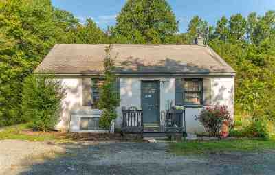 Single Family Home For Sale: 1650 Old Lynchburg Rd