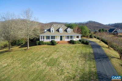Charlottesville Single Family Home For Sale: 3510 Rocks Mill Ln