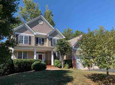 Charlottesville Single Family Home For Sale: 1863 Rhett Ct