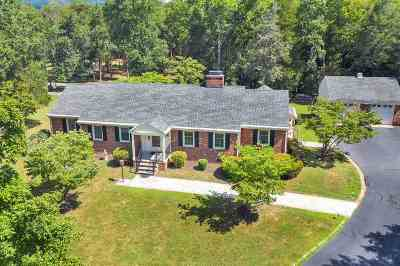Albemarle County Single Family Home For Sale: 3432 Keswick Rd