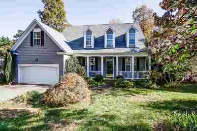 Charlottesville Single Family Home For Sale: 309 Starcrest Rd