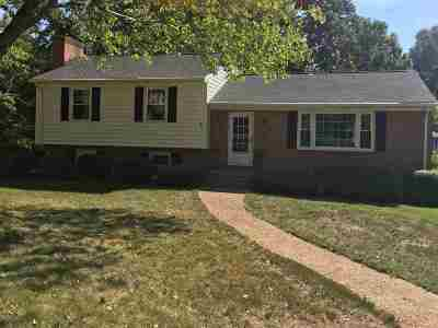 Charlottesville Single Family Home For Sale: 2250 Brandywine Dr