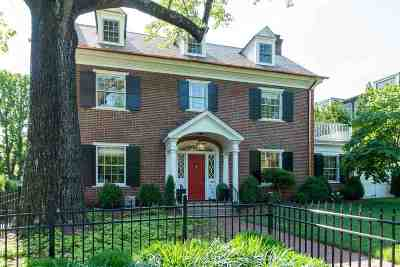 Charlottesville  Single Family Home For Sale: 632 Park St