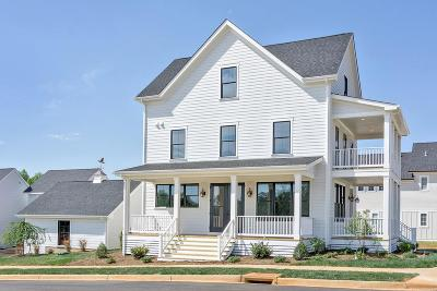Charlottesville  Single Family Home For Sale: Lot 124 Nicholson St