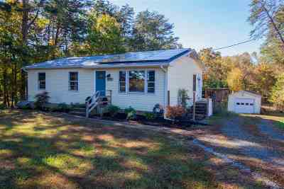 Albemarle County Single Family Home Sold: 1425 Simmons Gap Rd