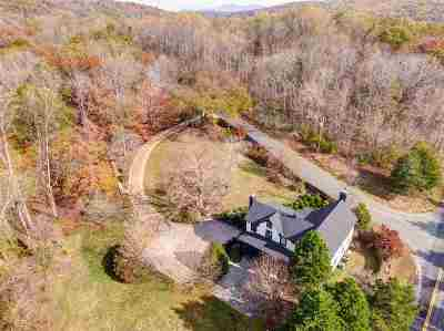 Albemarle County Single Family Home For Sale: 3470 Old Lynchburg Rd