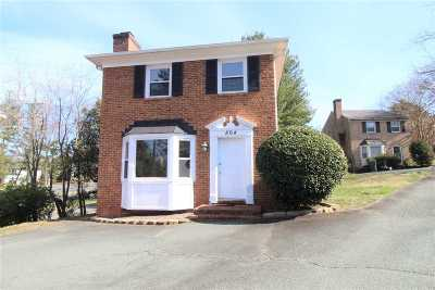 Charlottesville Single Family Home For Sale: 864 St Charles Ave