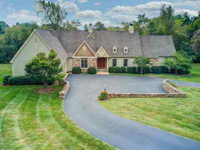 Albemarle County Single Family Home For Sale: 1345 Owensville Rd