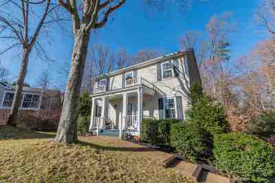 Charlottesville Single Family Home For Sale: 1018 Ashby Pl