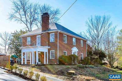 Charlottesville  Single Family Home For Sale: 700 Northwood Ave