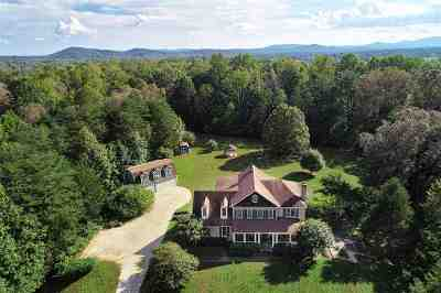 Albemarle County Single Family Home For Sale: 2530 Lake Albemarle Rd