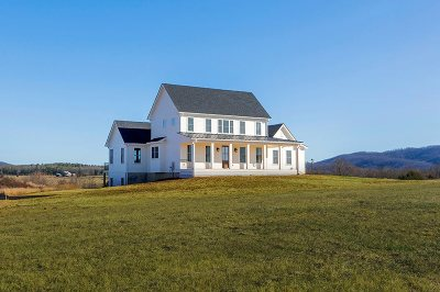 Albemarle County Single Family Home For Sale: Lot 15 Frays Ridge Rd