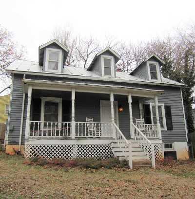 Charlottesville Single Family Home For Sale: 1517 E High St