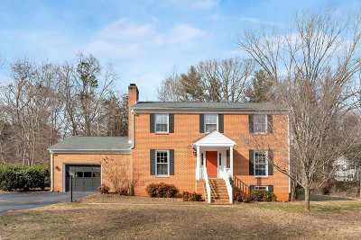 Albemarle County Single Family Home For Sale: 2717 Huntington Rd