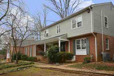 Albemarle County Single Family Home For Sale: 511 Nottingham Rd