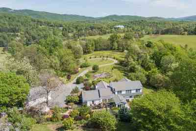 Albemarle County Single Family Home For Sale: 5182 Hedge Hall Ln