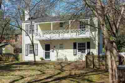 Charlottesville  Single Family Home For Sale: 626 Preston Pl