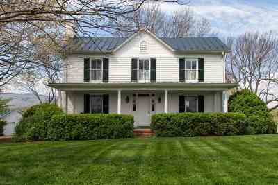 Albemarle County Single Family Home Sold: 7546 Batesville Rd