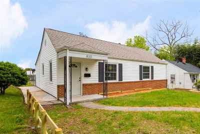 Charlottesville Single Family Home For Sale: 610 Gillespie Ave