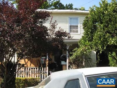 Charlottesville Single Family Home For Sale: 104 Oak St