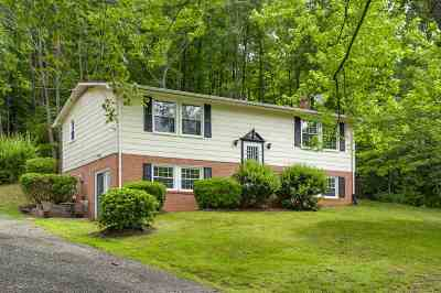 Albemarle County Single Family Home Pending: 6080 Monacan Trail Rd
