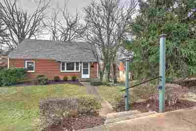 Charlottesville Single Family Home For Sale: 1114 Forest Hills Ave