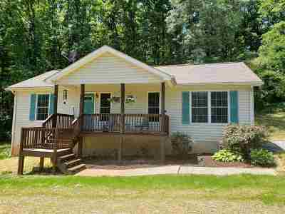 Albemarle County Single Family Home Pending: 3482 Monacan Trail Rd