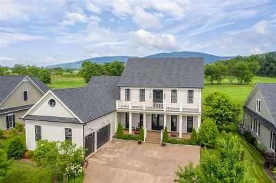 Albemarle County Single Family Home Pending: 735 Golf View Dr