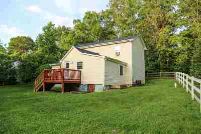 Albemarle County Single Family Home Pending: 430 Free Town Ln