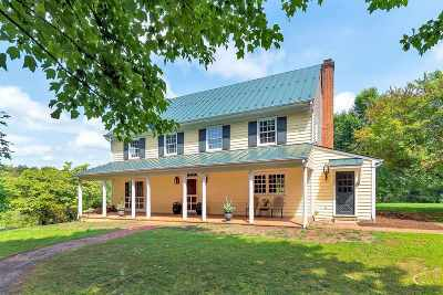 Albemarle County Single Family Home For Sale: 674 Gillums Ridge Rd