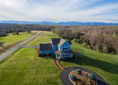 Albemarle County Single Family Home For Sale: 1612 Frays Ridge Crossing