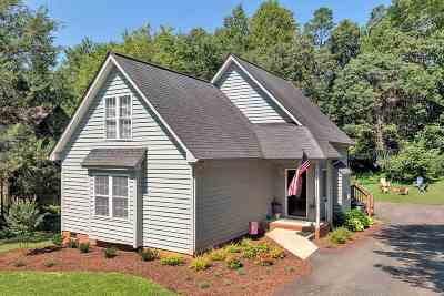 Albemarle County Single Family Home Pending: 1318 Gristmill Dr