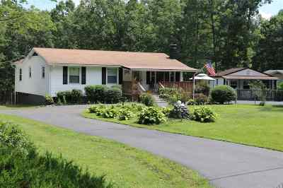Albemarle County Single Family Home Pending: 3633 Presidents Rd
