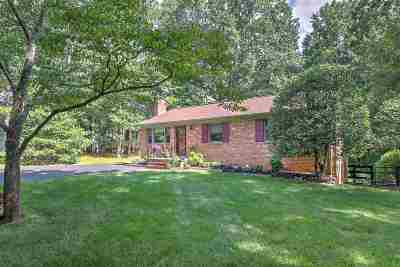 Albemarle County Single Family Home Pending: 4194 Dickerson Rd