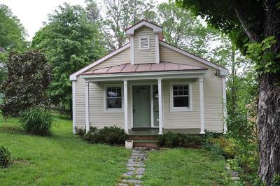 Single Family Home Sold: 212 Maury St