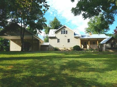 Glasgow Single Family Home For Sale: 357 Hops Hill Rd